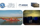 Evros Delta Management Body cooperation with Aegean Airlines