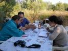 Η ομάδα του Δέλτα Έβρου επί το έργον, 2009 / Evros Delta team in work time, 2009 (E. Stets)
