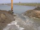 Εργασίες στη λιμνοθάλασσα Δράνα / Works in Drana lagoon (A. Athanasiadis)