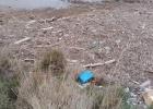 Υδάτινα απορρίματα στο Δέλτα του Έβρου